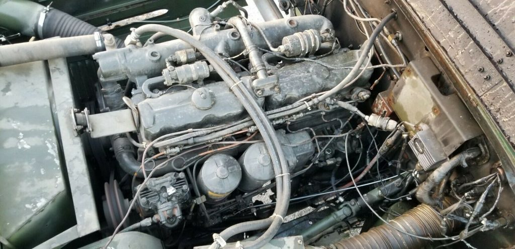 improved 1976 Kaiser Jeep M543a2 5 Ton Wrecker truck
