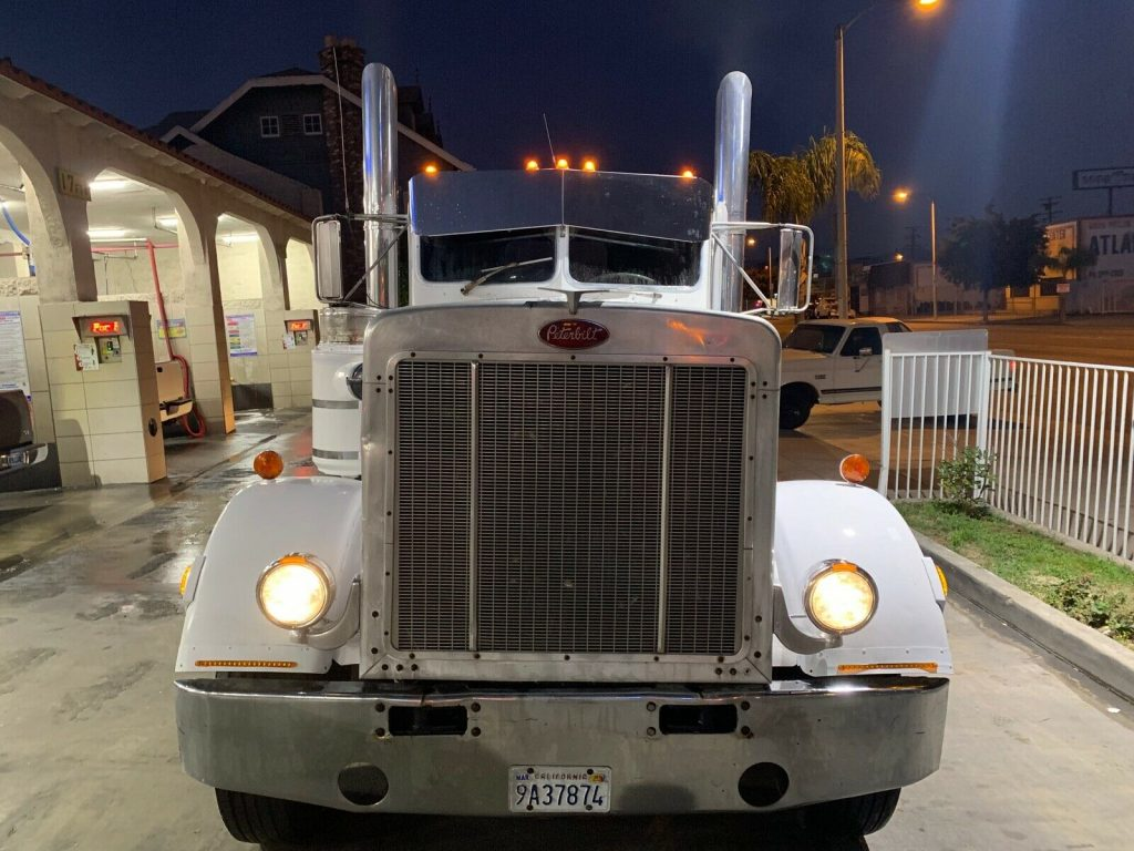 low miles 1967 Peterbilt 359 truck