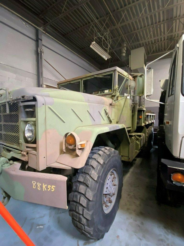 low miles 1990 BMY M923 5Ton truck