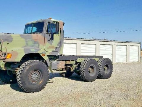 low miles 1993 Freightliner M916A1 military truck for sale