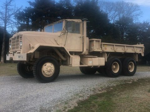 no issues 1987 AM General M923 6×6 truck for sale