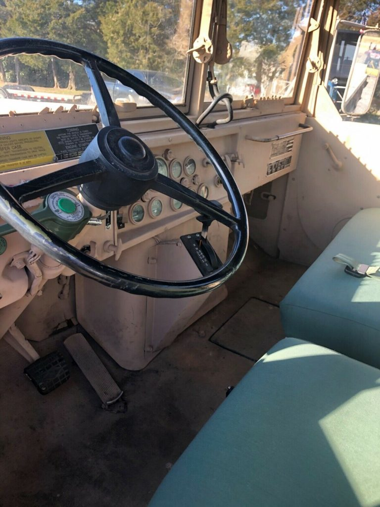 no issues 1987 AM General M923 6×6 truck