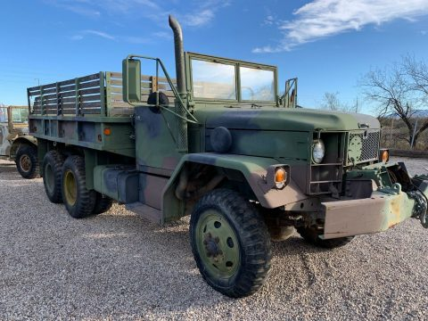 solid 1989 Kaiser M35A2 6×6 truck for sale