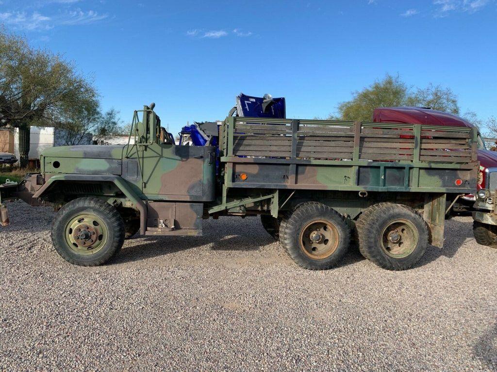 solid 1989 Kaiser M35A2 6×6 truck