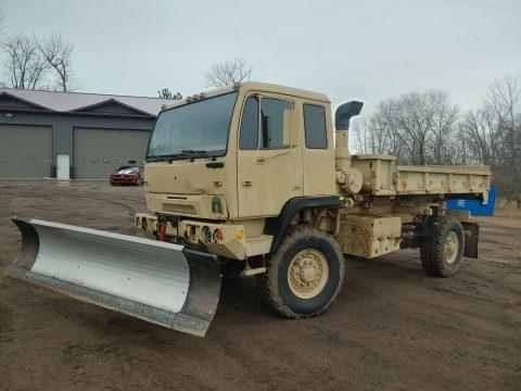 solid 1999 Stewart & Stevenson M1079 LMTV Cargo Truck for sale