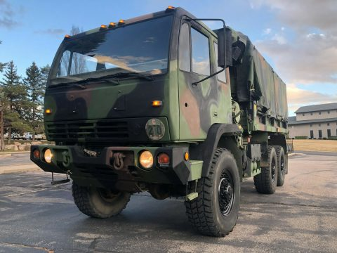 very nice 1995 BAE M1090 MTV military truck for sale