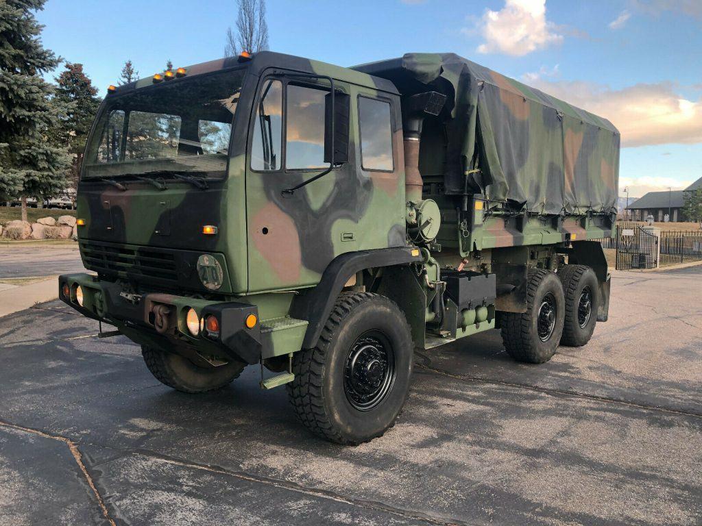 very nice 1995 BAE M1090 MTV military truck
