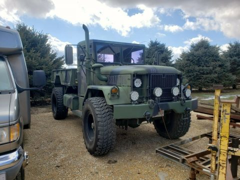 bobbed 1971 AM General M35A2 military truck for sale