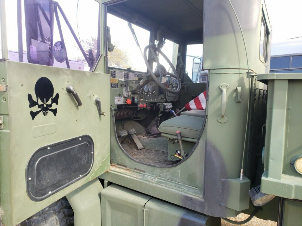 bobbed 1971 AM General M35A2 military truck