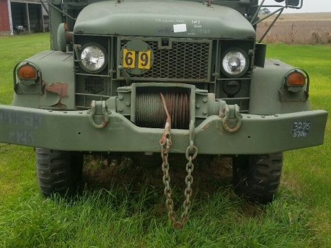 great running 1967 Kaiser 6×6 Deuce and a half Military truck for sale