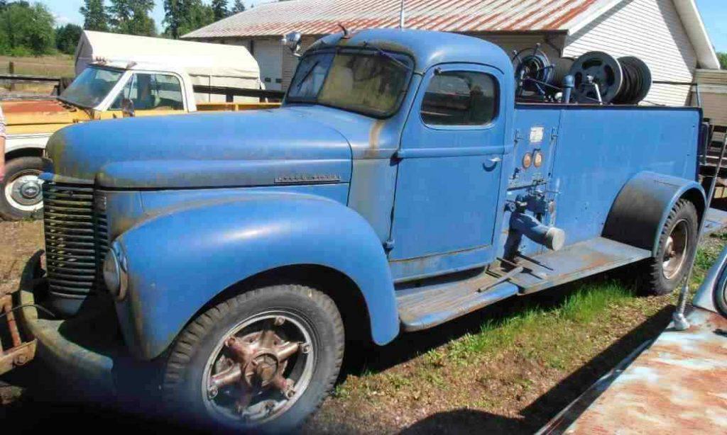 needs tlc 1942 International Harvester k 233 truck
