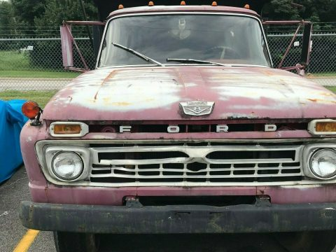 needs TLC 1966 Ford F60 truck for sale