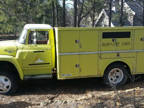 needs work 1964 International Fire Truck for sale