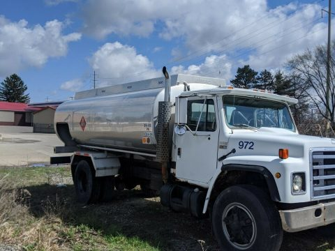 solid 1980 International Fuel Truck for sale