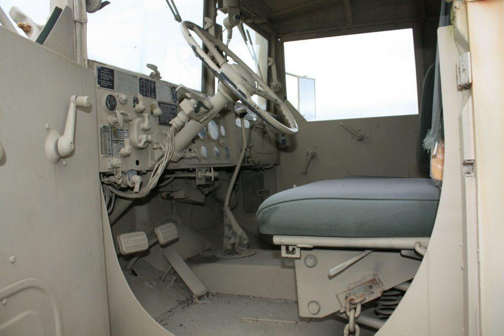 strong 1971 AM General wrecker military truck