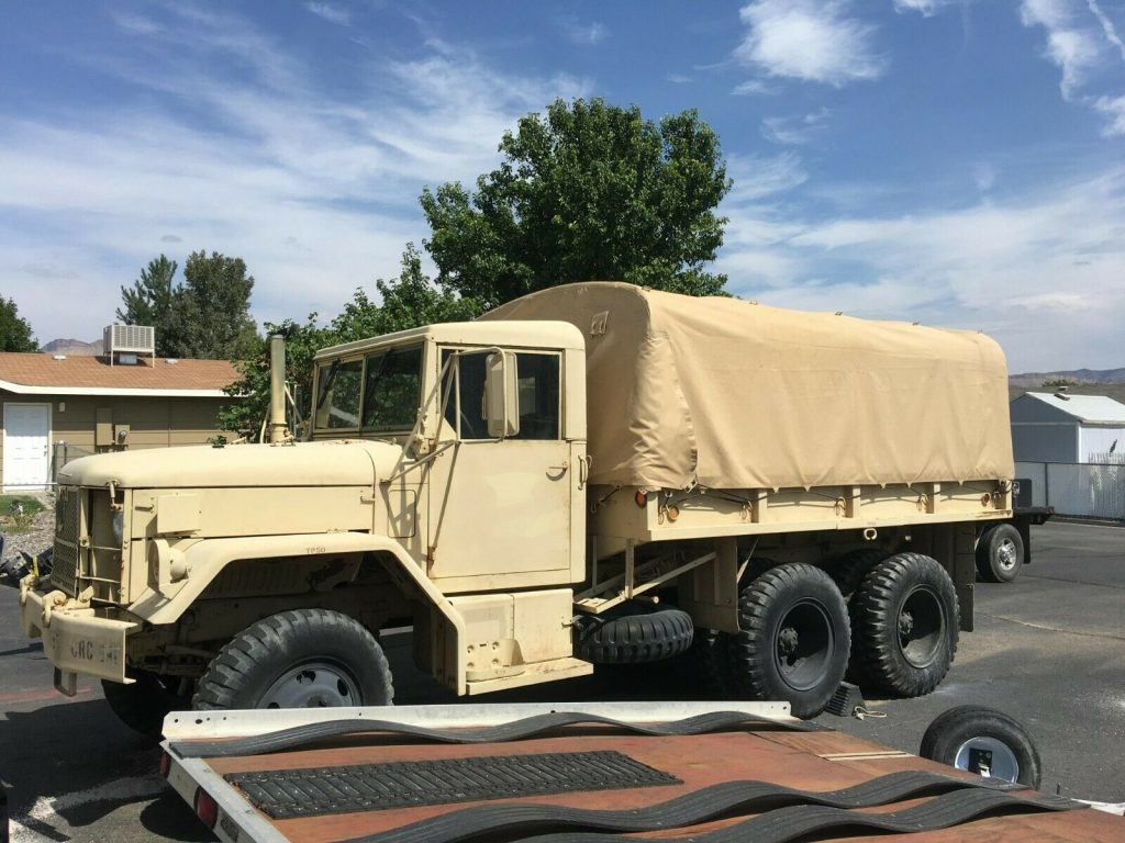 very nice 1971 AM General M35a2 Duece and a Half truck