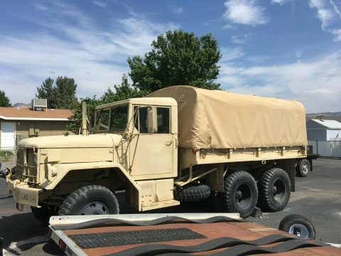 very nice 1971 AM General M35a2 Duece and a Half truck for sale