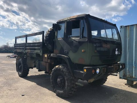 everything works 1998 Stewart & Stevenson M1078 military truck for sale