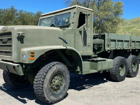 made for movie 1986 AM General USMC M923 truck for sale
