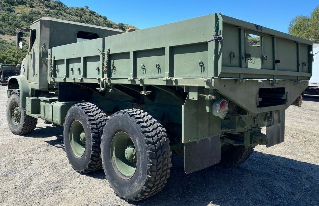 made for movie 1986 AM General USMC M923 truck