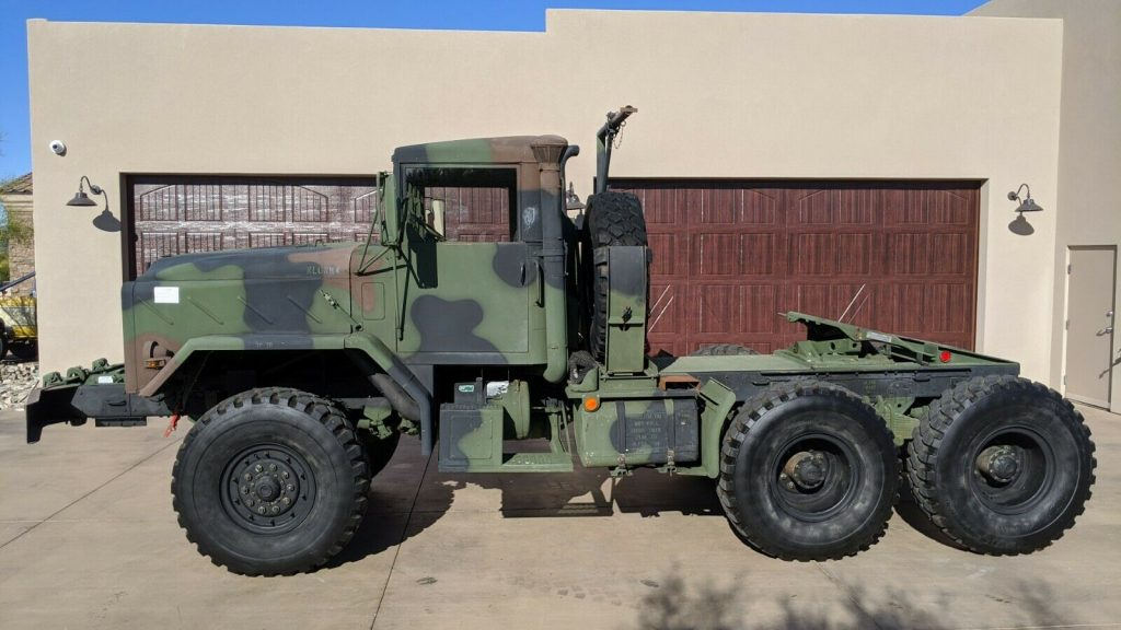 ready to enjoy 1986 AM General military truck