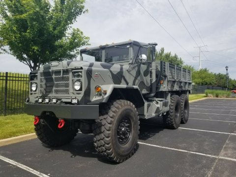 restored 1989 BMY Harsco military truck for sale