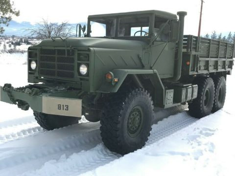 rust free 1984 AM General military truck for sale