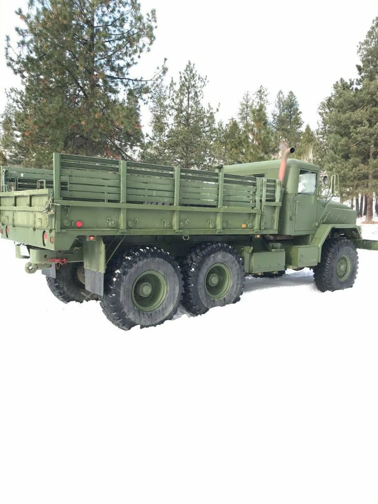 rust free 1984 AM General military truck
