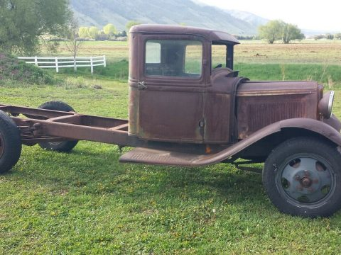 solid project 1932 Ford BB truck for sale