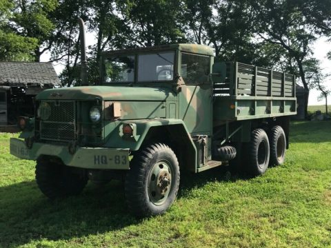 Everything works 1970 Kaiser M35a2 truck for sale
