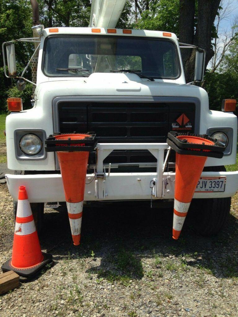 everything works 1988 International Bucket Truck