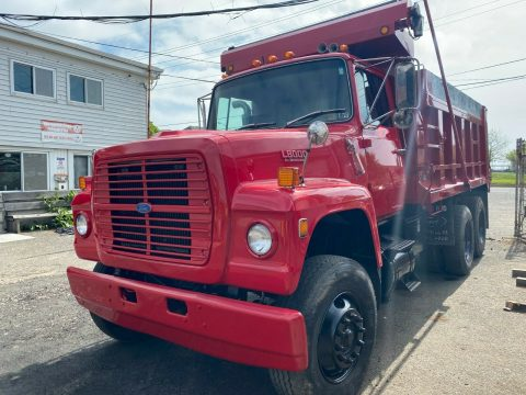 low mileage 1988 Ford F 8000 truck for sale