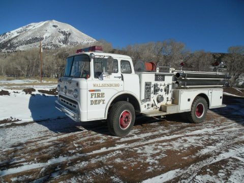 original paint 1972 Ford American La France C 900 truck for sale