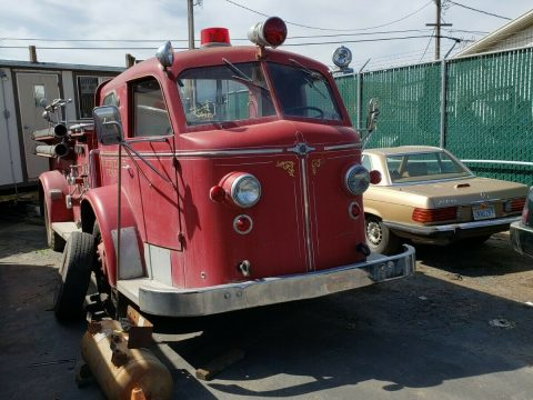 project 1949 Ford American La France FR truck for sale