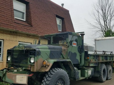 solid 1984 AM General M 942a1 military truck for sale