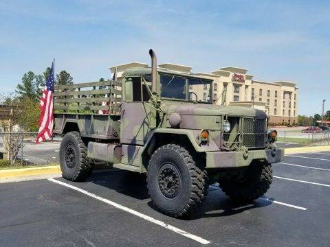 Bobbed Deuce 1987 AM General M35a2 Military truck for sale