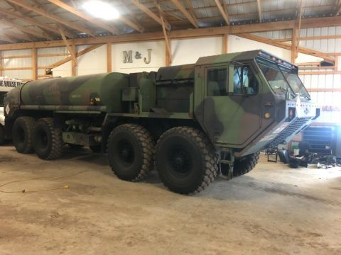 nice low miles 1995 Oshkosh M978 8×8 Military Tanker Truck for sale