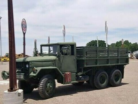 recently serviced 1967 Kaiser Jeep M35a2 military truck for sale