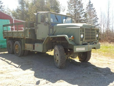 solid 1984 AM General M 923 military truck for sale