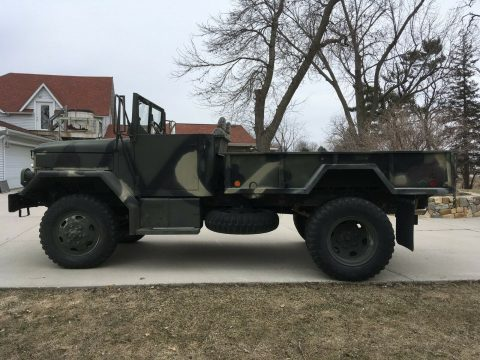 very nice 1969 AM General M 35 Deuce Bobber military truck for sale